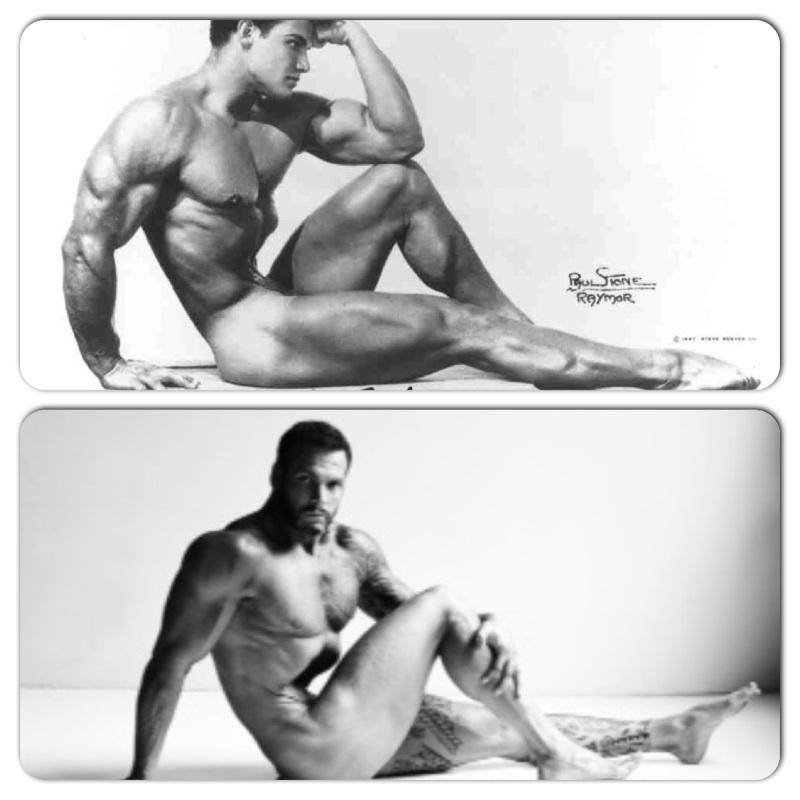 Josh derives inspiration from the great Steve Reeves.